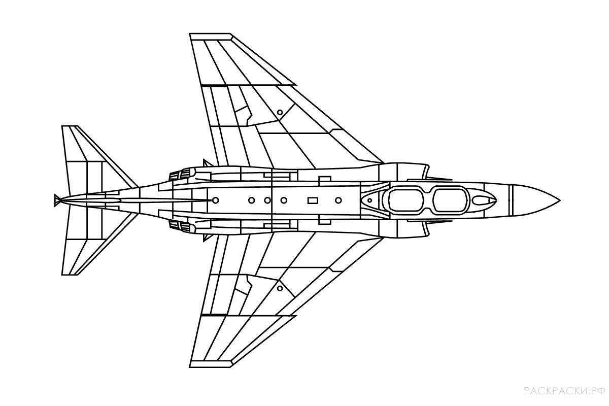 Раскраска Военный Верталёт Сикорский UH-60 Блэк Хок ...