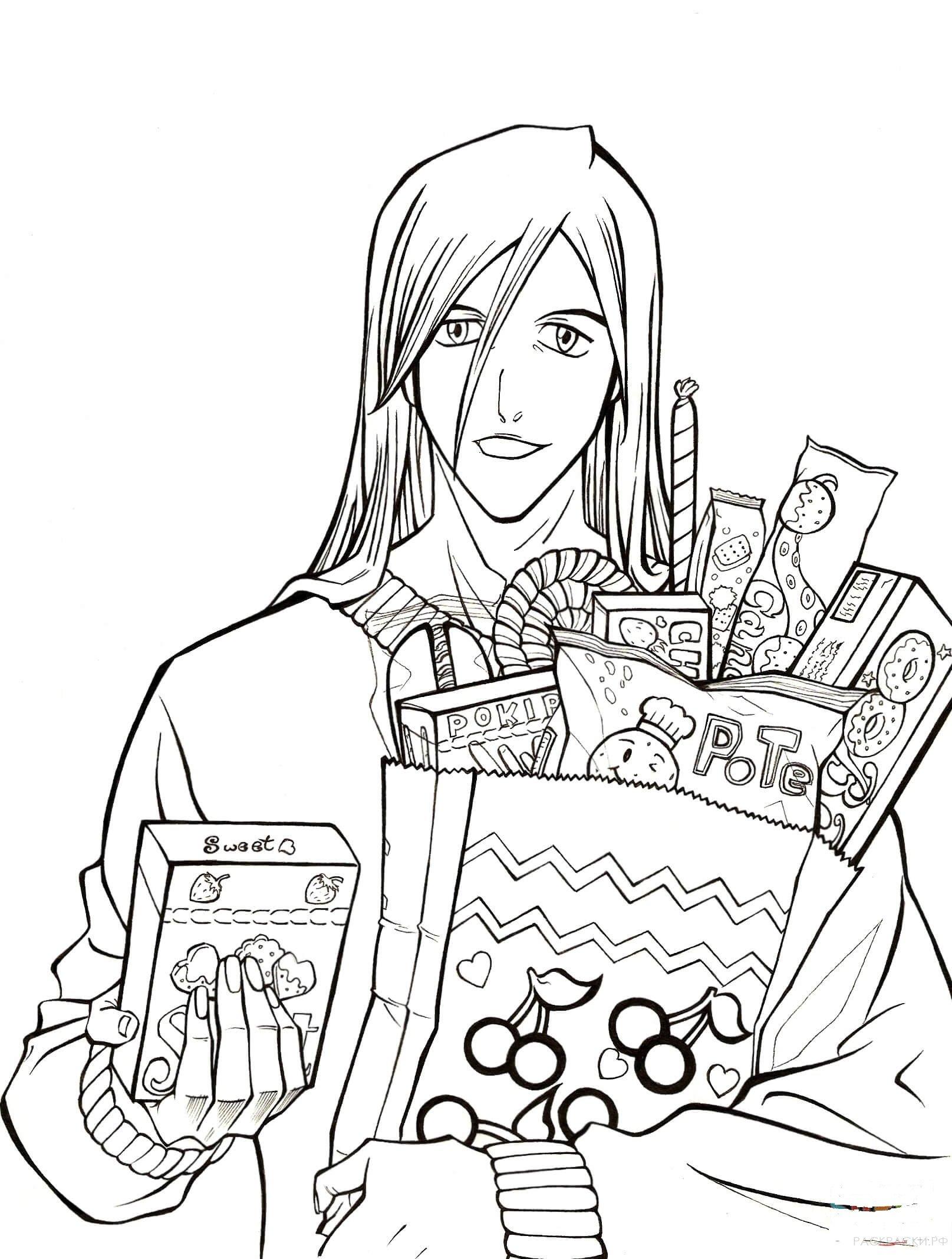 раскраски аниме страница 25 раскраски рф распечатать