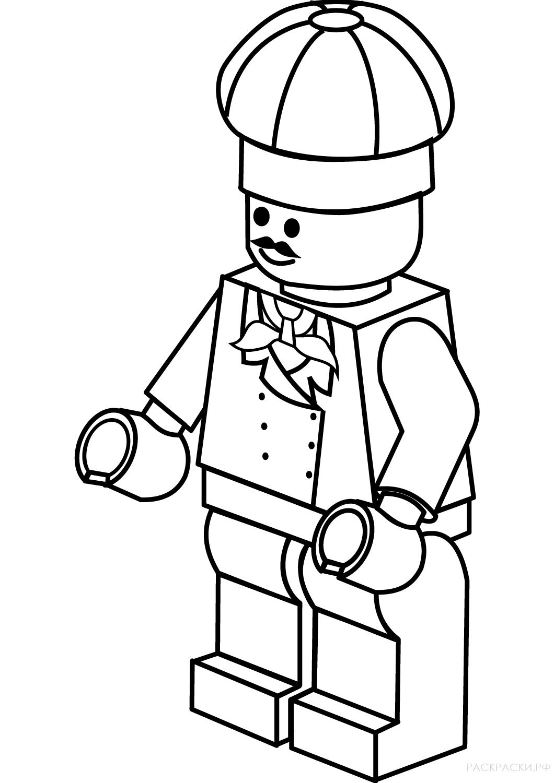 Раскраска Ллойд Гармадон из Лего Ниндзяго » Раскраски.рф ...