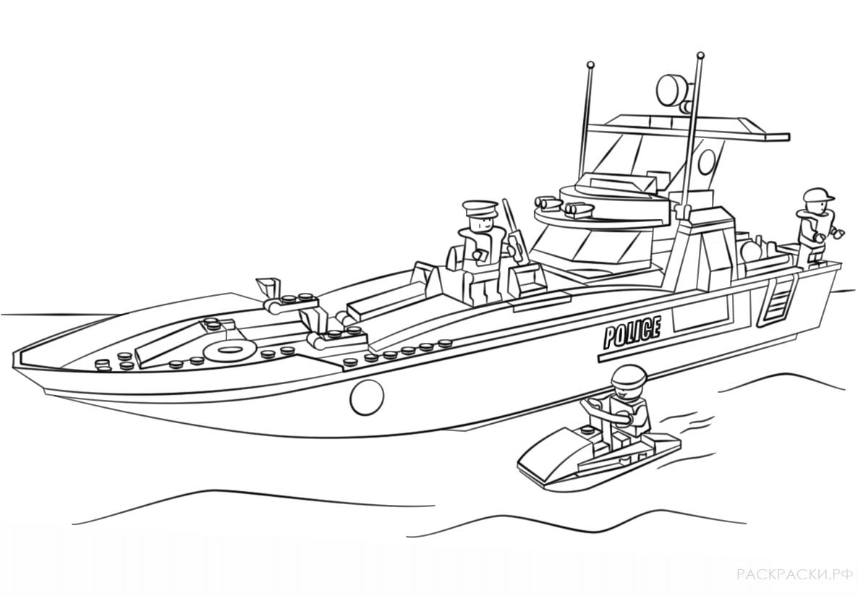 раскраска военный корабль и подлодка раскраски рф