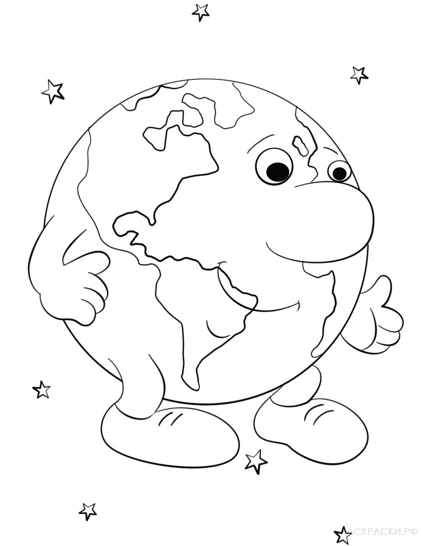 Раскраска Мультяшная русалка 3 » Раскраски.рф ...