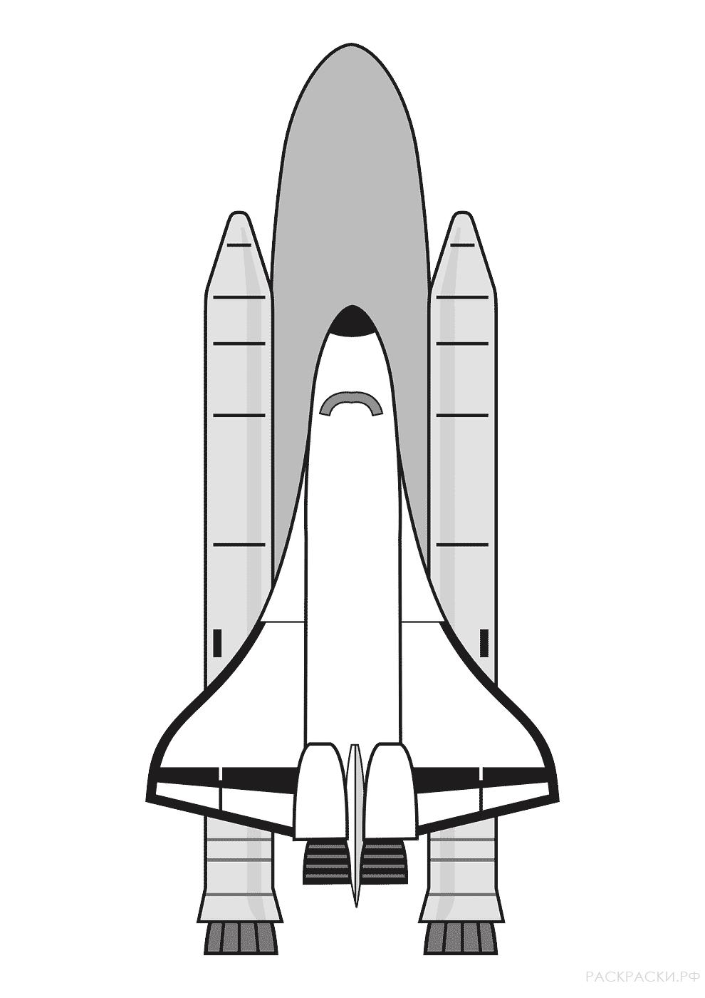 rocket space drawing - HD990×1400