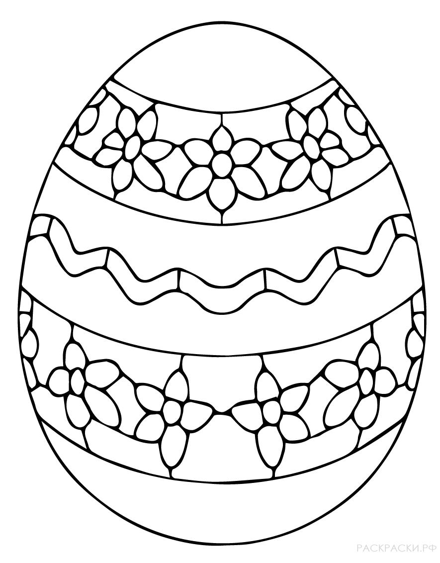 Рисунок яйца на пасху