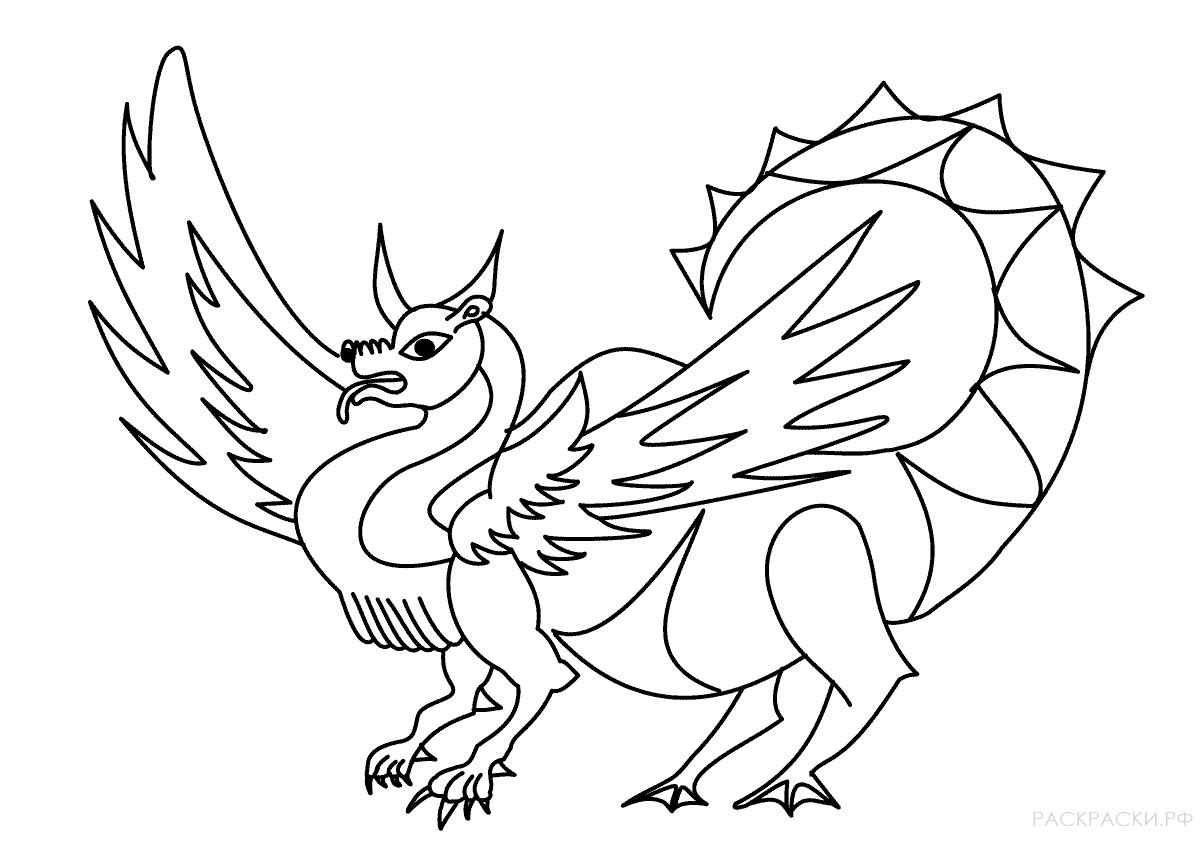раскраска домашний дракон раскраски рф распечатать